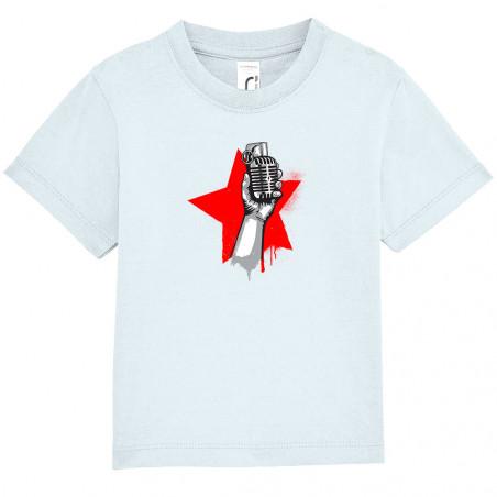 "Tee-shirt bébé ""Resist"""