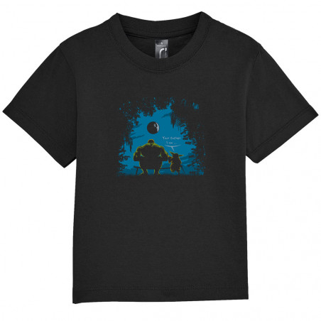 """Tee-shirt bébé """"Hulk Father"""""""