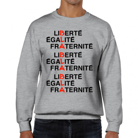 "Sweat homme col rond ""BLA..."