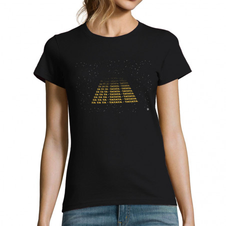 "T-shirt femme ""Tatata..."
