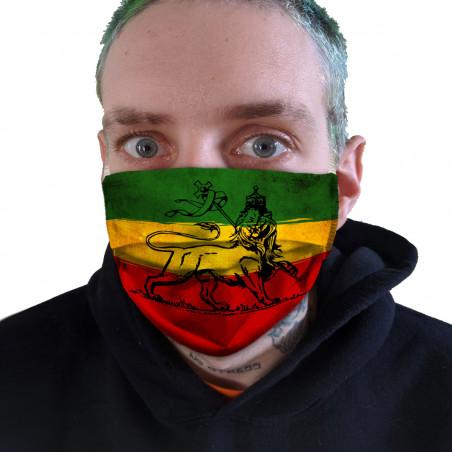 "Masque en tissu ""Reggae Flag"""