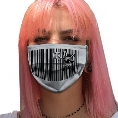 """Masque en tissu """"Coucou"""""""