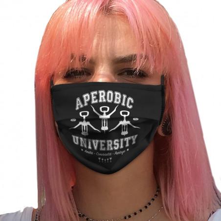"""Masque en tissu """"Aperobic..."""