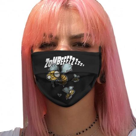 """Masque en tissu """"Zombeeezzzz"""""""