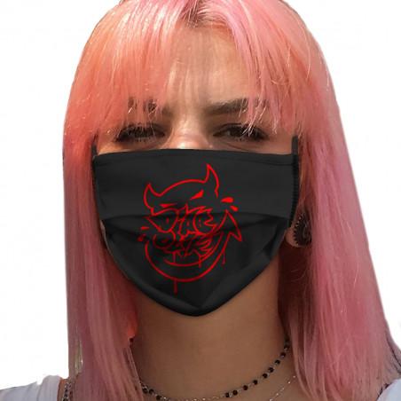 """Masque en tissu """"Diabolik -..."""