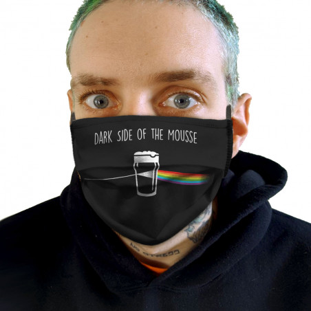 """Masque en tissu """"Dark side..."""