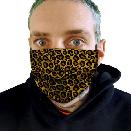 """Masque en tissu """"Leopard"""""""