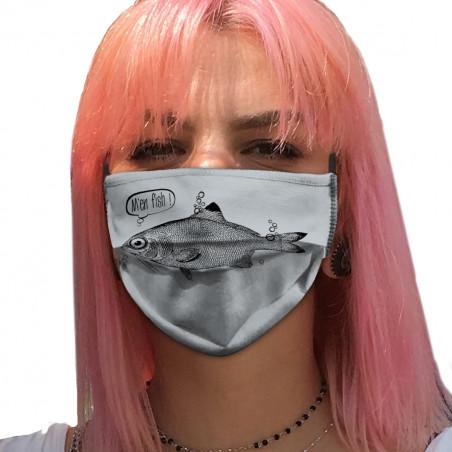 """Masque en tissu """"M'en fish"""""""
