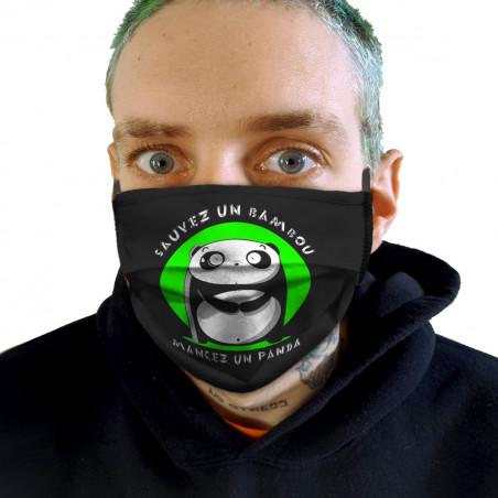"""Masque en tissu """"Sauvez un..."""