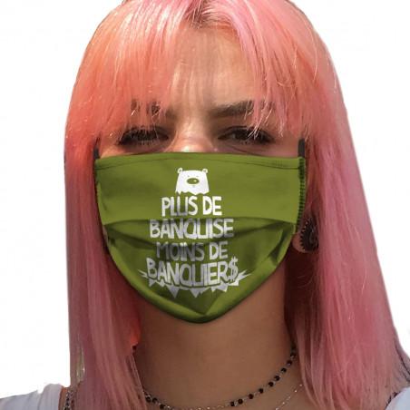 """Masque en tissu """"Plus de..."""