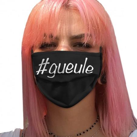 """Masque en tissu """"Hashtagueule"""""""