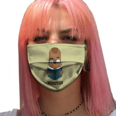 """Masque en tissu """"Wookipedia"""""""