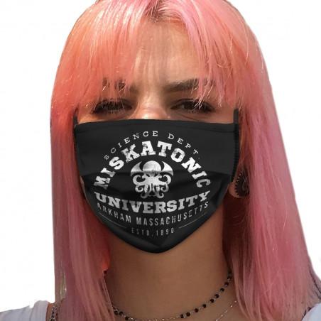 "Masque en tissu ""Miskatonic..."