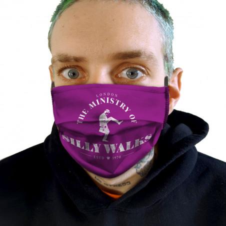 """Masque en tissu """"Silly Walks"""""""