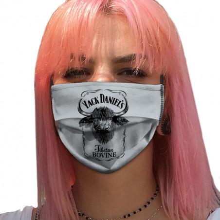 "Masque en tissu ""Yack..."