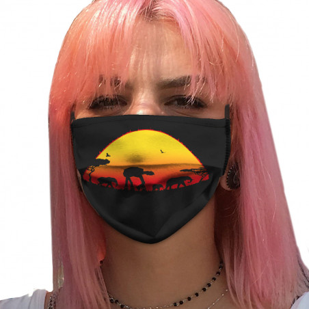 "Masque en tissu ""Starfari"""