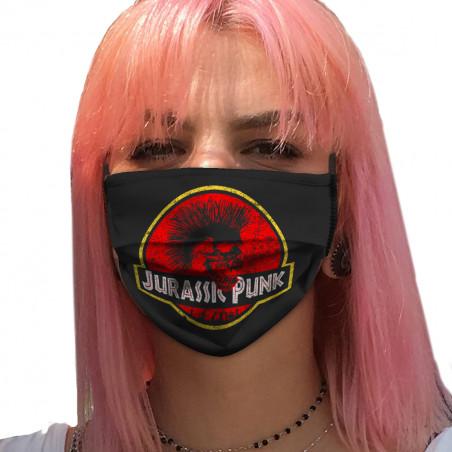 """Masque en tissu """"Jurassic..."""