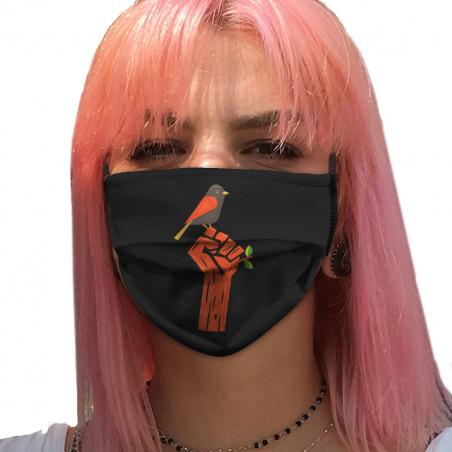 """Masque en tissu """"Résiste"""""""