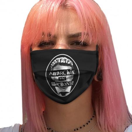 """Masque en tissu """"Anarchie..."""