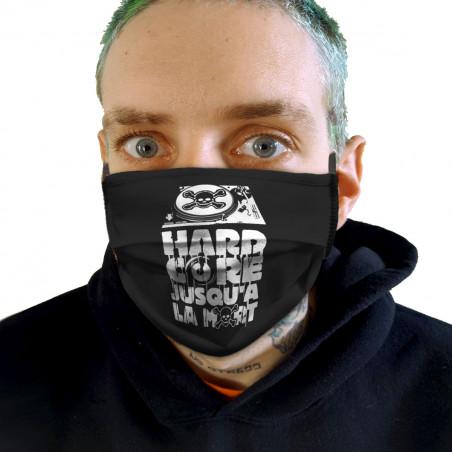 "Masque en tissu ""Hardcore..."