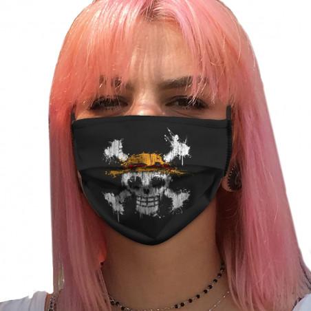 """Masque en tissu """"One Skull"""""""