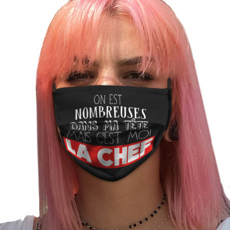 "Masque en tissu ""Mais c'est..."