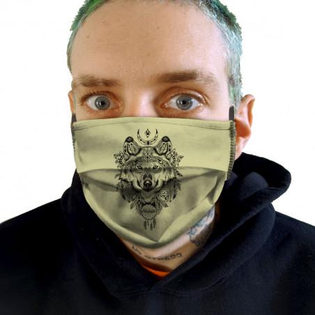 """Masque en tissu """"Bad River..."""