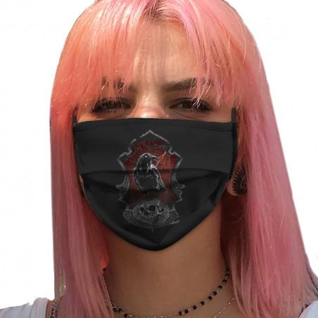 """Masque en tissu """"Diabolik..."""