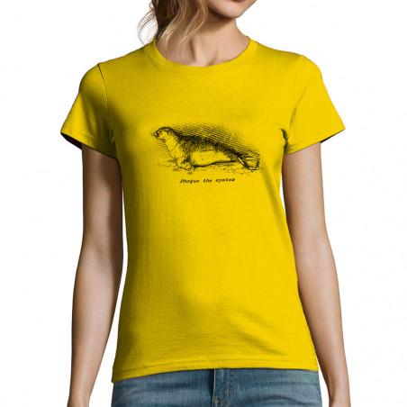 "T-shirt femme ""Phoque The..."