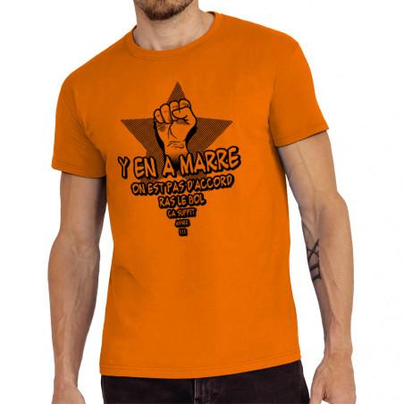 "Tee-shirt homme ""Y en a marre"""