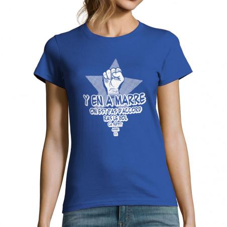 "T-shirt femme ""Y en a marre"""