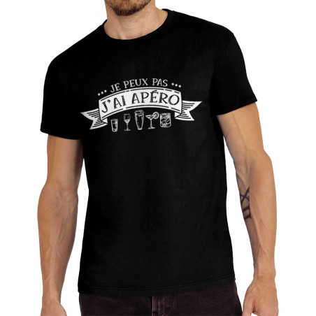 """Tee-shirt homme """"J'ai apéro"""""""