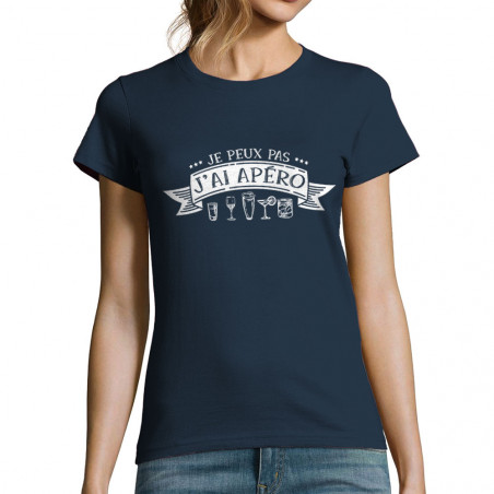 "T-shirt femme ""J'ai apéro"""