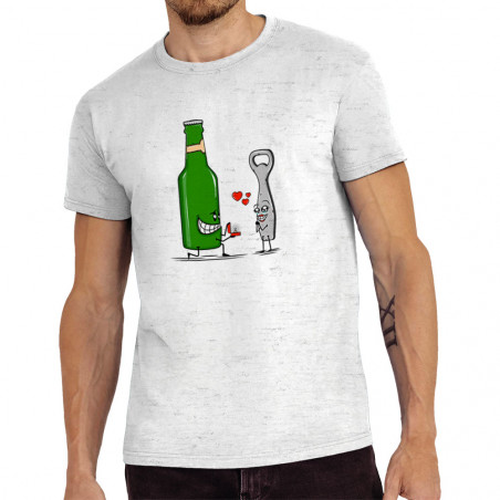 "Tee-shirt homme ""Beer Romance"""