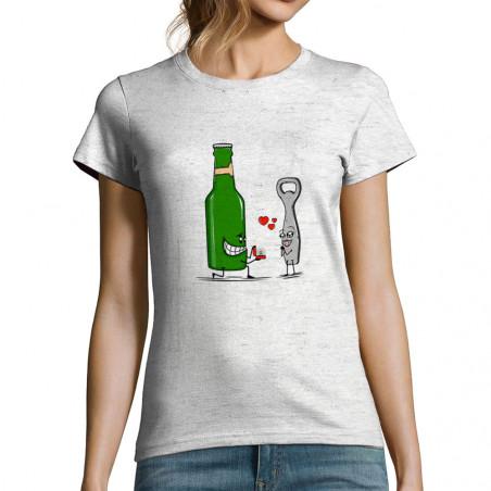 """T-shirt femme """"Beer Romance"""""""
