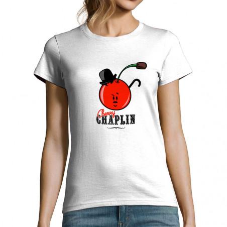 """T-shirt femme """"Cherry Chaplin"""""""
