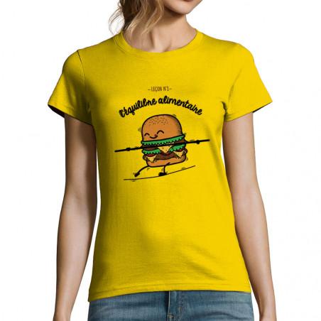 """T-shirt femme """"L'équilibre..."""