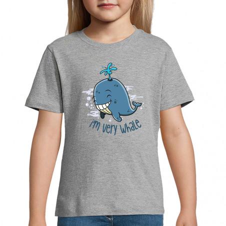 """Tee-shirt enfant """"I'm Very..."""