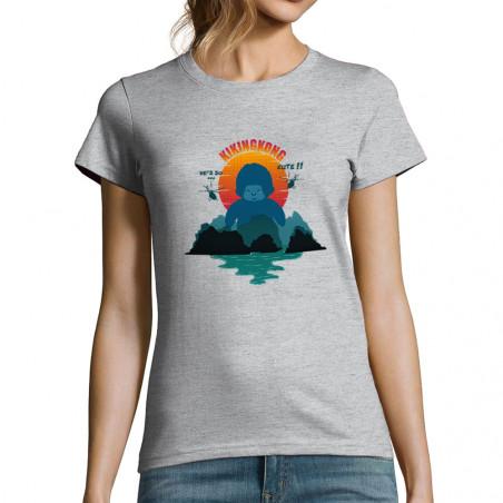 "T-shirt femme ""Kiking Kong"""