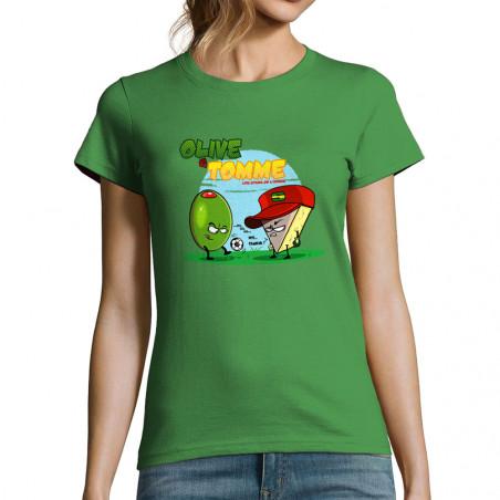 """T-shirt femme """"Olive et Tomme"""""""