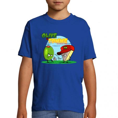"""Tee-shirt enfant """"Olive et..."""