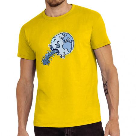 "Tee-shirt homme ""Sick Earth"""