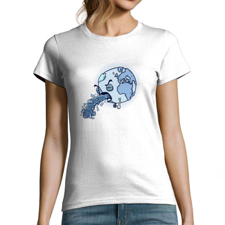 """T-shirt femme """"Sick Earth"""""""