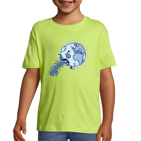 """Tee-shirt enfant """"Sick Earth"""""""