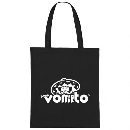 """Sac shopping en toile """"Vomito"""""""