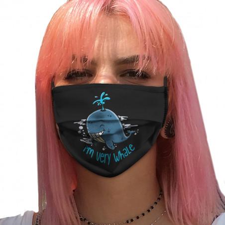 "Masque en tissu ""I'm Very..."