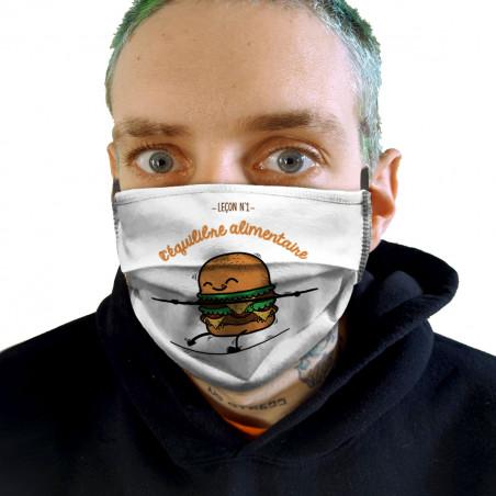 Masque en tissu...