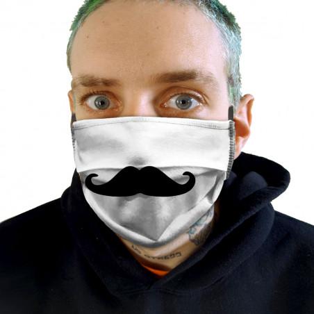 "Masque en tissu ""Moustache 2"""