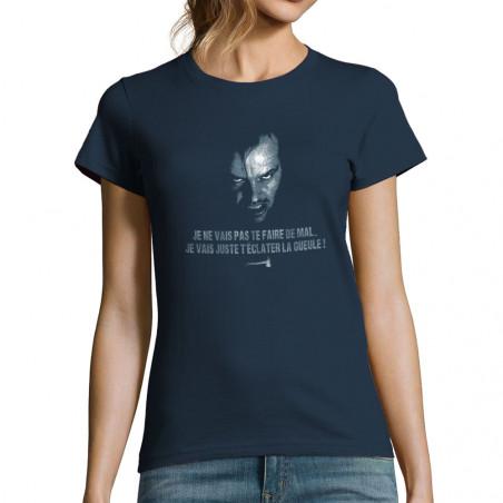 """T-shirt femme """"T'éclater la..."""