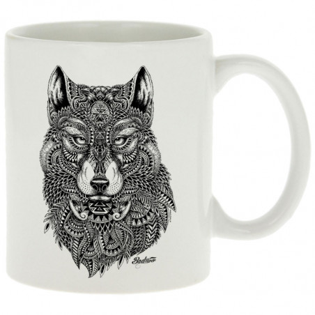 "Mug ""Bad River - The Wolf"""